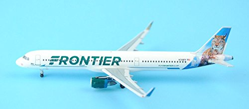 KNL HOBBY New: Aeroclassics American Frontier Airlines N706FR 1:400 A321/w (Frontier Airlines Model compare prices)