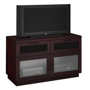 Cheap Furnitech FT46CC-W 46in. Contemporary Media Console TV Stand (B0046FPUK0)
