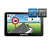 Navigation GPS SNOOPER PL2400 NOIR EUROPE CARTE A VIE