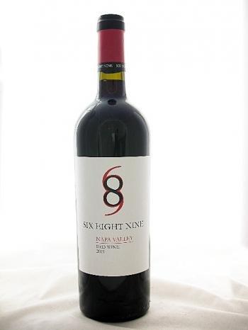 シックス・エイト・ナイン ナパ・ヴァレー レッド【Six Eight Nine Red Wine】【カリフォルニア産・赤ワイン・辛口・フルボディ・750ml】