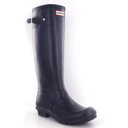 Hunter Original Navy Womens Boots Size 9 US