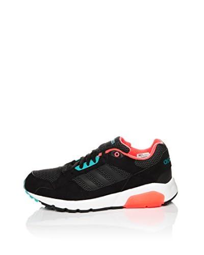 adidas Sneaker Run9Tis [Nero/Corallo/Verde]