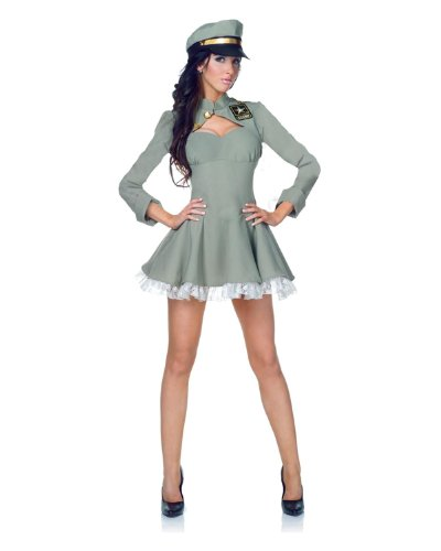U.S. Army Sexy Bravo Uniform Dress Adult