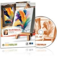 Kelby Training DVD: Fun with Digital Art, Painting in Photoshop By Fay Sirkis
