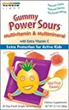 Rainbow Light Gummy Power Sours Multivitamin & Multimineral, 30-Count Single Serve Packets