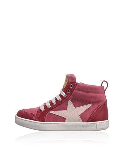 Bisgaard Sneaker Alta [Rosa]