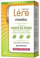 LERO PONDEAL - Lot de 2 boîtes Fruit Rouge + vanille (2 x 30 sticks)