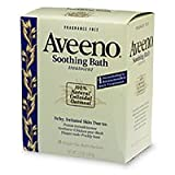 Aveeno Fragrance Free Soothing Bath Treatment, 8-Count