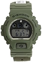 G-Shock - Limited Edition Undefeated 6900 Watch in Olive in Color: Olive