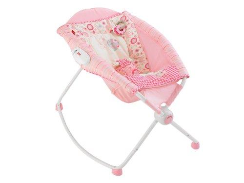 New Pink Baby Gear Folding Portable Fisher-Price Rock 'N Play Newborn Sleeper