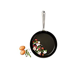 All-Clad E7859064 HA1 Hard Anodized Nonstick Dishwasher Safe PFOA, 2-Piece, Black by All-Clad
