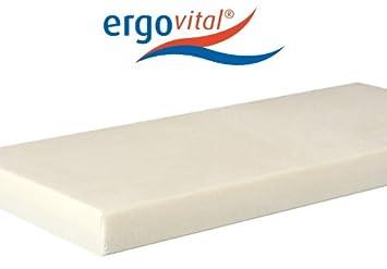 Ergovital Vitalpur® Light druckentlastende Viscoschaum-Matratze mit Kaltschaum, Größen Matratzen:100 x 220 cm;Härtegrad Matratzen:H2