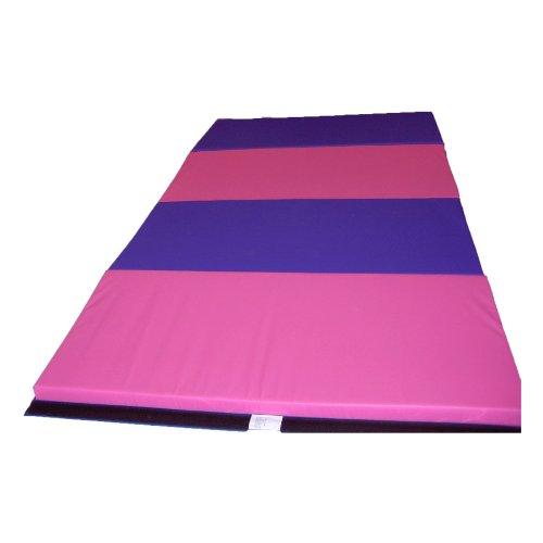 Purple And Pink Gymnastics Mat: Gymnastics