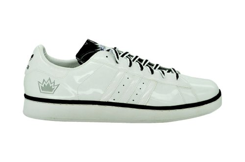 43f494d41942 Adidas Campus II + Mens Basket Ball Shoes Style  044312-wht blk