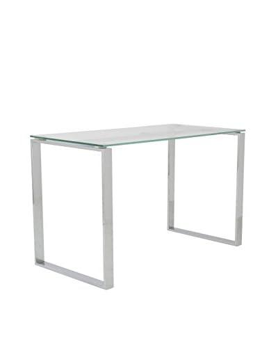 Euro Style Diego Desk, Clear