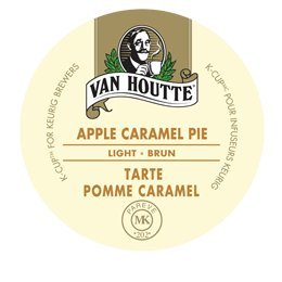 24 Count - Van Houtte Apple Caramel Pie Coffee K Cup For Keurig K-Cup Brewers
