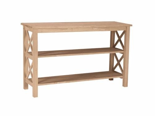 Cheap International Concepts OT-70S Hampton Console or Sofa Table Unfinished (OT-70S)