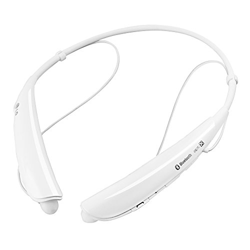 LG Tone Pro HBS-750 Wireless Bluetooth Headphones White (Certified Refurbished)