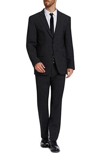 STONES 2-Knopf-Anzug schwarz in 54