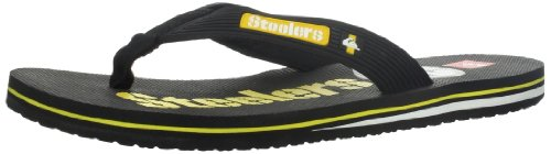 Quiksilver Men's Pittsburgh Steelers NFL Flip Flop,Black/Yellow,12 M US at Amazon.com