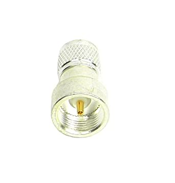 TPI Silver Plated Brass Mini UHF Type Connector with Teflon Insulation
