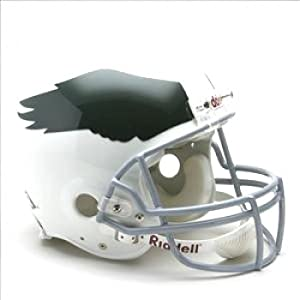 Philadelphia Eagles Throwback 1969-1973 Replica Unsigned Riddell Helmet by The Sports Mix