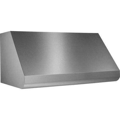 """Broan E60E42 1500 Cfm 42"""" Wide Stainless Steel Wall Mounted Range Hood With Heat, Stainless Steel front-440488"""