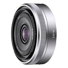 ソニー α「Eマウント」用レンズ E16mm F2.8