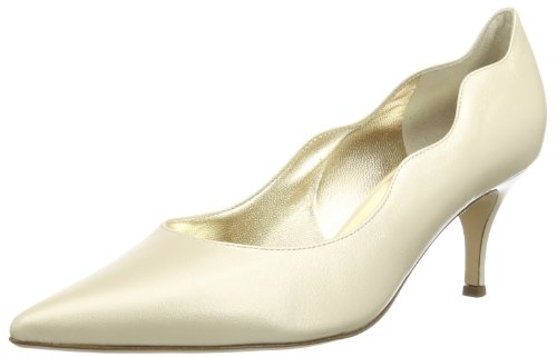Högl shoe fashion GmbH Womens 7-106233-09000 Closed Ivory Elfenbein (champagn 900) Size: 37.5