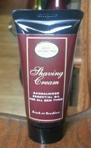 The Art of Shaving Shaving Cream - Sandalwood 1 Oz Deluxe Tr