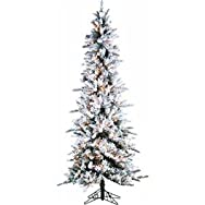 Sterling/Palm Tree 5820-75C Prelit Artificial Pencil Pine Tree