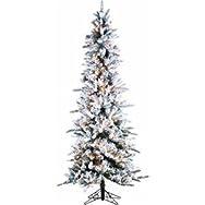 Sterling/Palm Tree 5820-75C Prelit Artificial Pencil Pine Tree