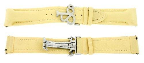 jacob-co-original-hellgelb-poly-gummiband-fur-47-22-mm-watch-strap