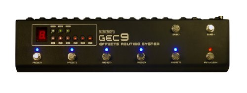 """MOEN GEC9 """"COMMANDER"""" EFFECTS LOOPER AND CONTROL STATION 10 BANKS OF PRESETS!"""
