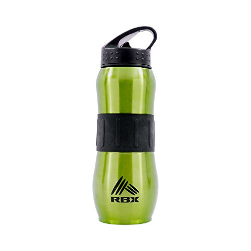 Water Bottle Nozzle: RBX Active Stainless Steel Pop Up Nozzle Water Bottle
