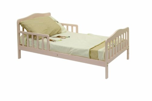 Dream On Me Classic Toddler Bed - Pink front-981863