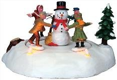 Lemax The Merry Snowman Battery Operated (84776) Reviews