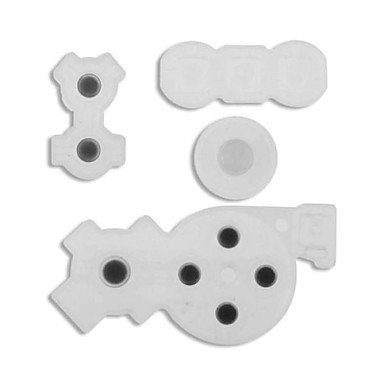 3CLeader® Button Conductive Rubber Contact Pad for Nintendo Wii Remote Controller