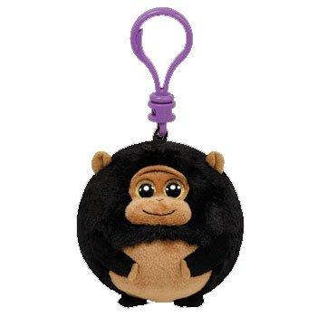 Ty Beanie Ballz - Tank-Clip the Gorilla - 1