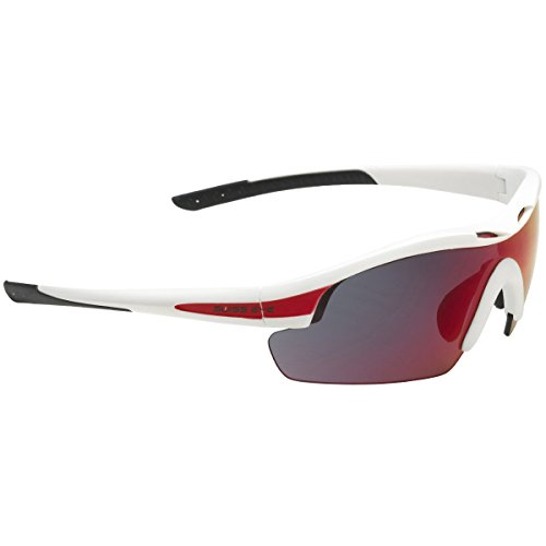 e65c3e6ef81 Swiss Eye Novena - Smoke BR Revo Orange Clear Lens White Matt Red Frame