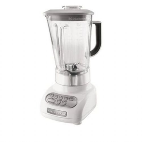 KitchenAid 5-Speed Blenders with Polycarbonate Jars, White