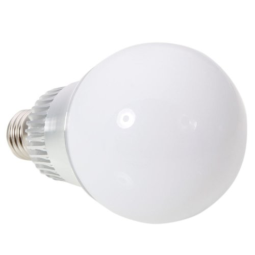 E27 9W 85-265V High Power Rgb Color Changing Flash Led Light Lamp Ball Bulb Milky White With Remote Control