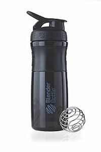 BlenderBottle SportMixer, Black Black, 28 Ounce by Blender Bottle