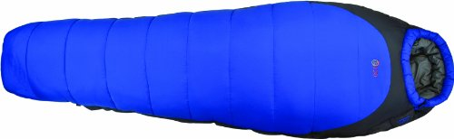 Highlander Echo 400 Sleeping Bag - Deep Blue/Castle Grey