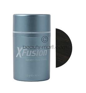 Xfusion Keratin Hair Fibers-Dark Brown .42 oz.