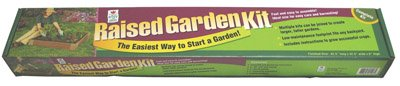 Easy Gardener 8061 42.5-Inch x 42.5-Inch x 6-Inch Square Raised Garden Kit