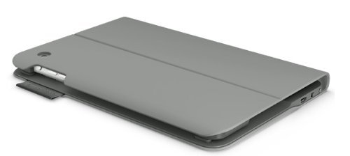 Logitech Ultrathin Keyboard Folio For Ipad Mini - Veil Grey Color: Veil Grey Pc, Personal Computer