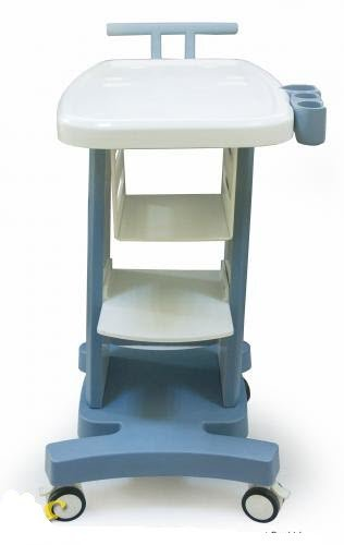 Mobile Trolley Cart for Ultrasound Imaging System W/printer Draw