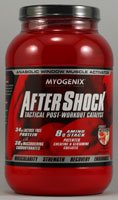 Myogenix AfterShock Tactical Post-Workout Catalyst Fruit Punch -- 2.64 lbs (Quantity of 1)