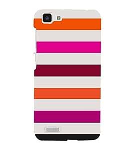 Girly Lovely Lines 3D Hard Polycarbonate Designer Back Case Cover for VIVO Y27L :: Y 27L